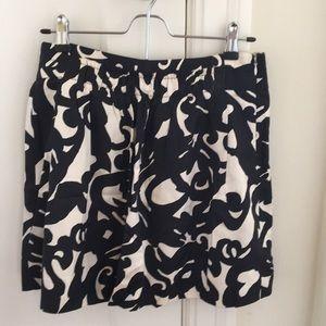 Jcrew silk/wool mini skirt